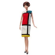 New ListingBarbie Exclusive Yves Saint Laurent Barbie Mondrian Dress Platinum Label