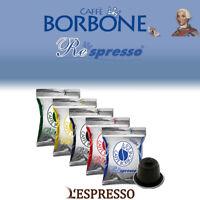 100 CAPSULE COMPATIBILI NESPRESSO CAFFÈ BORBONE
