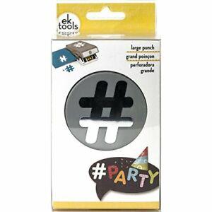 EK tools Hashtag Paper Punch