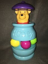Vintage Disney Winnie The Pooh Spinning Honey Pot Pop-Up Baby Toy Mattel