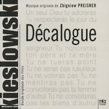DECALOGUE (BOF) - PREISNER ZBIGNIEW (CD DIGIPACK)