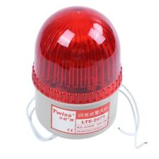 AC 220V 15W Red Light Industrial Signal Tower Flash Warning Lamp H9L5