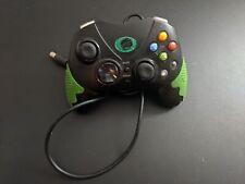 Noir/Vert Pelican PL-2053 Microsoft Xbox Manette comme-Est Voir