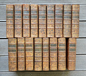 RELIGION - Calmet / Vence - Sainte Bible - 1779 - 17 volumes - 36 planches