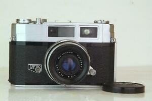"""TARON 35 Rare """"Nikon Copy"""" and One of the Best Fixed Lens 35mm Rangefinders"""