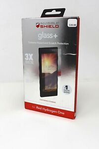 ZAGG Invisible Shield Glass+ Screen Protector for Red Hydrogen One - Clear - NEW