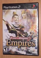 Dynasty Warriors 5: Empires V (PlayStation 2 / PS2) NEW SEALED - Koei Video Game