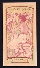 09)Nr.136- EXLIBRIS- Jugendstil / art nouveau, Karl Kostial