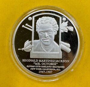 Reginald Martinez Jackson Mr. October Baseball's Greatest Players Hall Of Fame-1