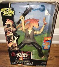 Star Wars-Episode 1-Electronic Talking Jar Jar Binks-Brand New!