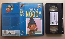 WELL DONE NODDY - VHS VIDEO