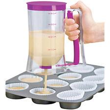 Cake Mix Batter Dispenser Measuring Label Baking Cupcake Cream Release Jug Tool