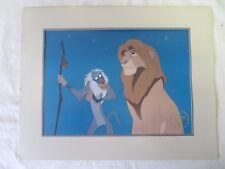 "Disney Store Lion King 1995 Exclusive Commemorative Lithograph 11 x 14"" #6089"