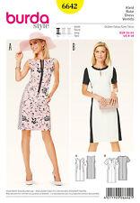 Schnittmuster burda style No 6642 Kleid – schmale Etuiform  Gr. 34 - 44