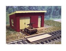 N Scale Osborne Models Maintenance Of Way Shed & Cart Laser Cut Kit #3108