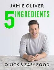 NEW Quick & Easy 5-Ingredient Food By Jamie Oliver - Perfect GIFT Christmas