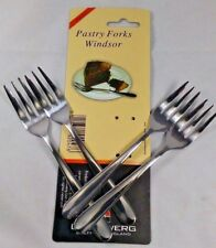 Set of 8 15cm Stainless Steel Pastry Forks Afternoon Tea Cake Dessert Pudding GR