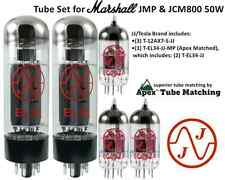 JJ Electronics (TESLA) Tube Set for Marshall JMP & JCM800 50W guitar amplifier