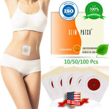 100Pcs Slim Patch Magnetic Slimming Weight Loss Burn Fat ✅ALL NATURAL Pads ISO✅