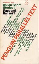 Italian Short Stories : Raleigh Trevelyan
