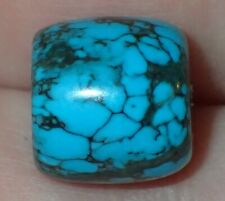 12mm Natural Indo - Tibetan, Tibet Turquoise bead, #S2567