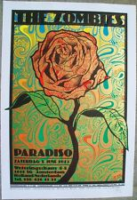Chuck Sperry The Zombies Golden Rose Paradiso Amsterdam Poster Print x/150 emek