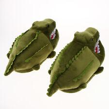 Funny Plush Crocodile Slipper Winter Animal House Shoes Christmas Gift Women