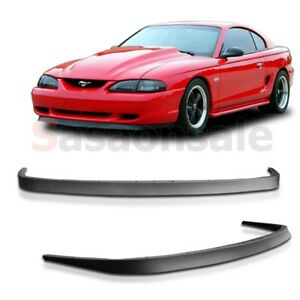 Fit for 94-98 FORD MUSTANG Mach 1 OE Front PU Bumper Lip Body Kit Chin Spoiler