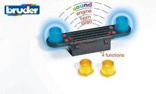 Truck Accessories: Light and Sound Module (trucks) incl. Battery - Bruder 02801