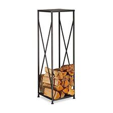 Relaxdays 10022303 Scaffale per legna da ardere in ghisa con (w6r)