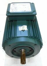 RELIANCE AC MOTOR, HM418457, WC143TC, 1 HP, RPM 1736, 230/460 VOLTS, 3.2/1.6 AMP