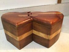Cedar Heart Puzzle Box