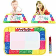 Water Drawing Painting Writing Cloth Mat Board Magic Pen Doodle Kids Baby Toy AA