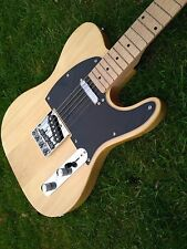 Telecaster Electric Guitar natural body maple neck