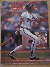 Beckett Baseball Monthly SEPTEMBER 1991 #78 DAVID JUSTICE ATLANTA BRAVES MAGAZIN