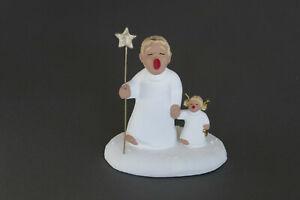 Rot Ceramic Engel mit Engelmädchen * Schutzengel * NEU * nicht mehr erhältlich!
