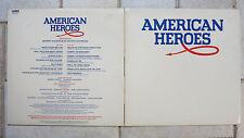 American Heroes   Barry Mason   Vinyl LP  WEA Records – AHLP 1