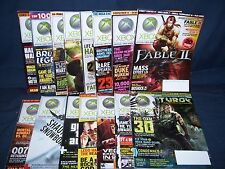 Official XBOX Magazine Lot #80 - #94 15 Issues No Disks