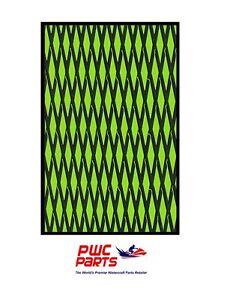 "HYDRO TURF Traction Mat Roll - Cut Diamond - Green/Black 37"" x 58"" - w/ Adhesive"