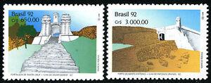 Brazil 2386-2387, MNH. Fortresses: Santa Cruz, Santo Antonio, 1992