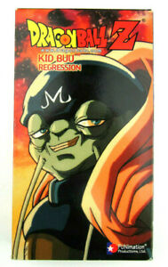 Dragon Ball Z Kid Buu Regression VHS Pre Owned