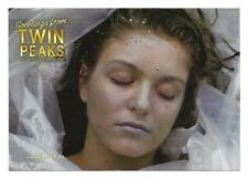 TWIN PEAKS GOLD BOX POSTCARD #61 LAURA PALMER CORPSE (SHERYL LEE)