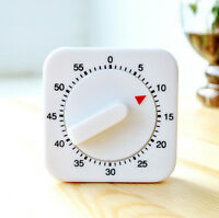 NEW HOT SALE 60 MINUTE ANALOG KITCHEN TIMER,1 HOUR MECHANICAL LOUD ALARM RING