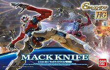 Gundam Reconguista G 1/144 HG #10 Mack Knife Mask Use Model Kit Bandai IN STOCK