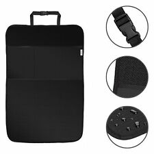 ECENCE 2x Backrest protection for kids, rear seat cover 50 x 70 cm, organiser...