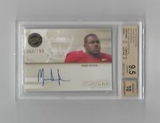 Mark Ingram Auto graph 2011 Press Pass 64/199 #CLMI   BGS 9.5 / 10  Pop. 2