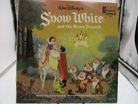 Walt Disney Snow White and the Seven Dwarfs 1963 Vinyl LP DQ-1201 VG c VG+