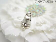 Authentic Pandora Silver WEDDING BELL Dangle Pearl Charm 790517P RETIRED