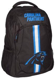 NFL Carolina Panthers Logo Action Backpack ( School, Work,Travel)