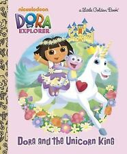 Dora and the Unicorn King (Dora the Explorer) (Little Golden Book), Reisner, Mol